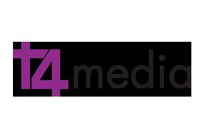 t4 media logo
